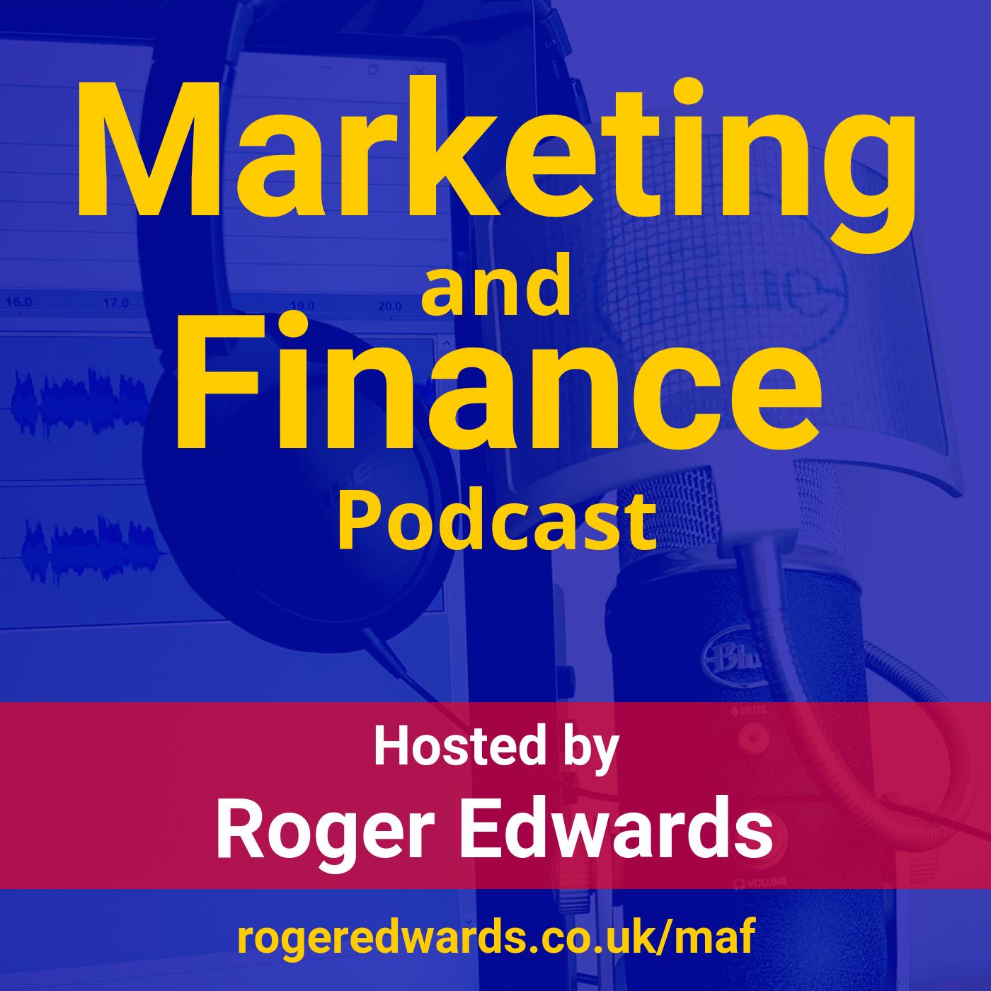 Artwork for podcast Marketing and Finance (MAF) Podcast