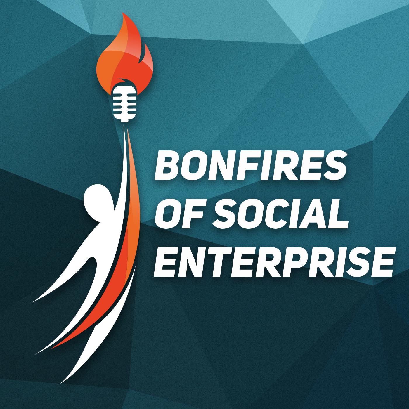 Artwork for podcast The Bonfires of Social Enterprise with Romy  of Gingras Global | Social Enterprise | Entrepreneurship in Detroit