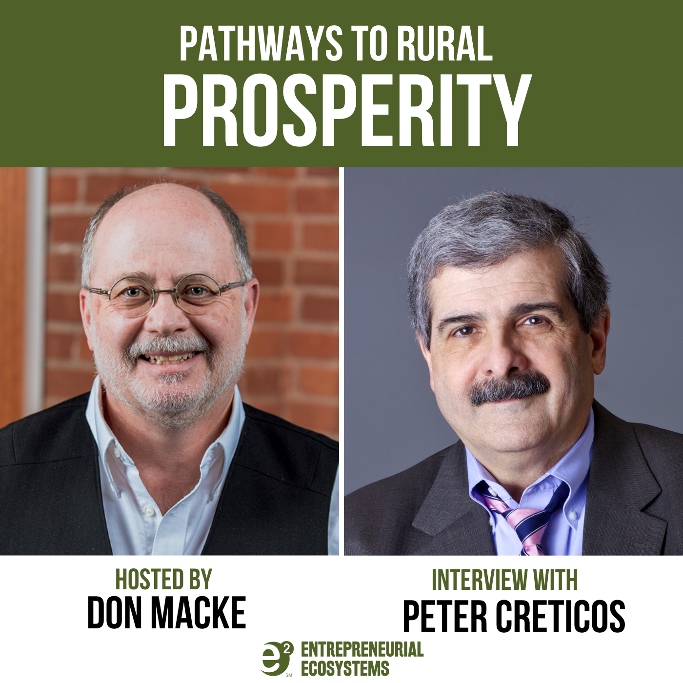 Artwork for podcast Pathways to Rural Prosperity with Don Macke
