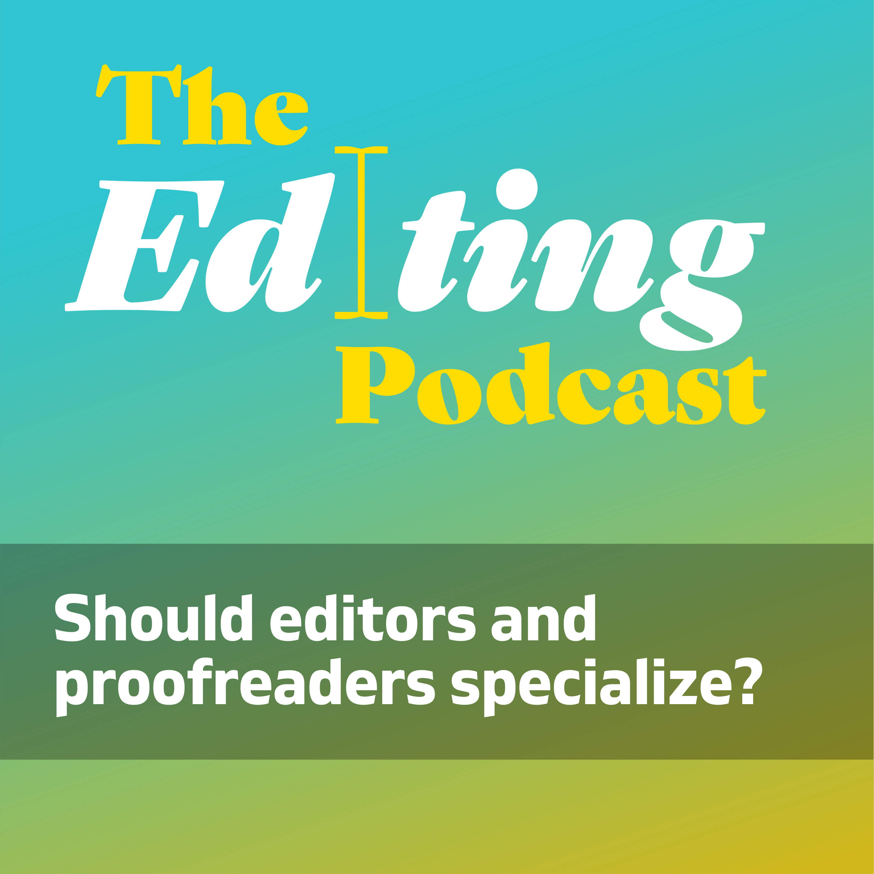 Artwork for podcast The Editing Podcast