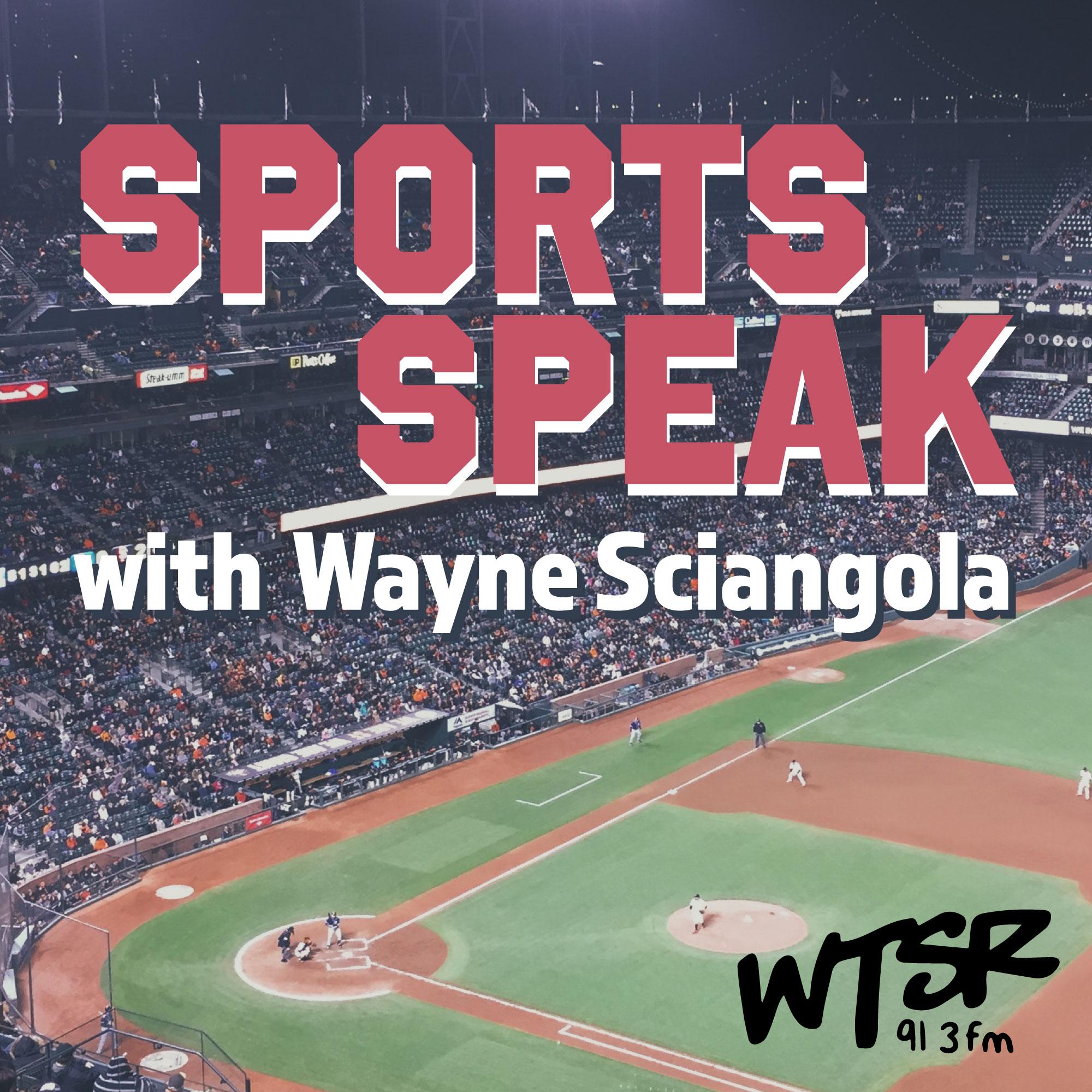 Artwork for podcast Sports Speak w/ Wayne