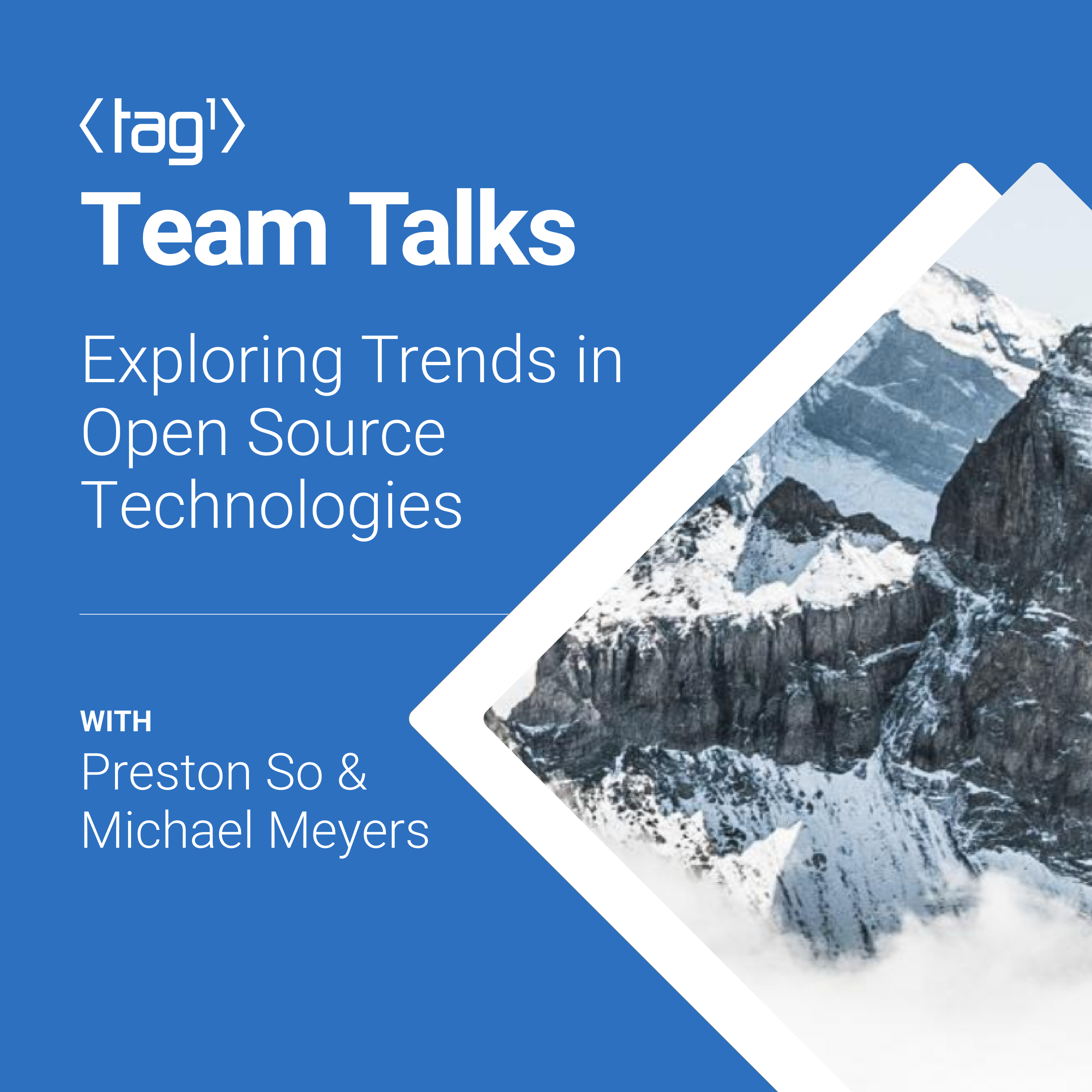 Artwork for podcast Tag1 Team Talks | The Tag1 Consulting Podcast
