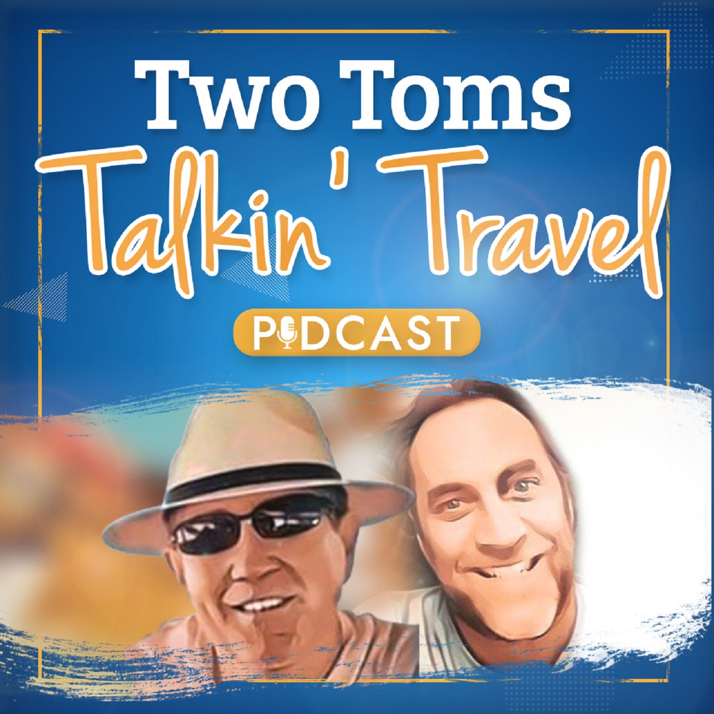 Show artwork for Two Tom's Talkin' Travel