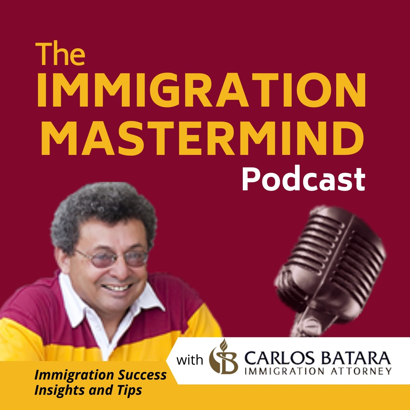 Show artwork for The Immigration Mastermind