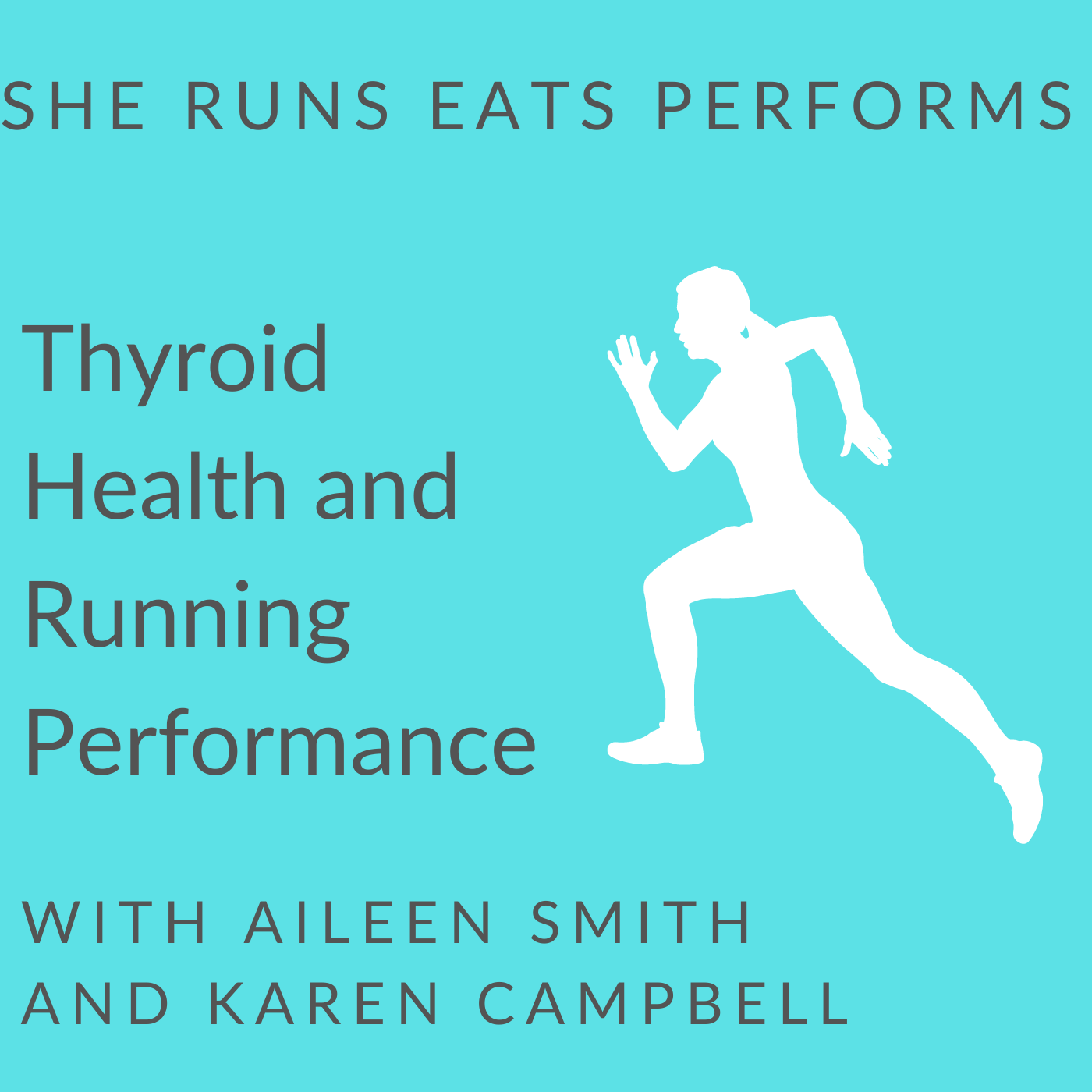Artwork for podcast She Runs Eats Performs