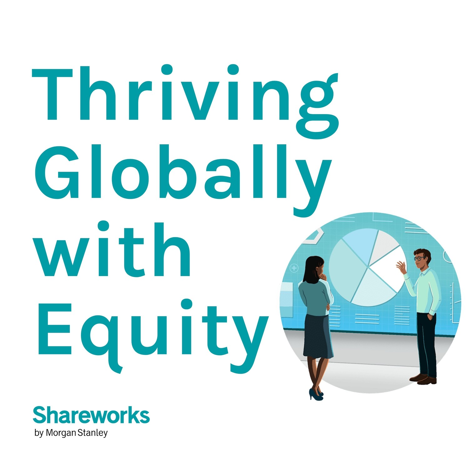 Artwork for podcast Thriving Globally with Equity