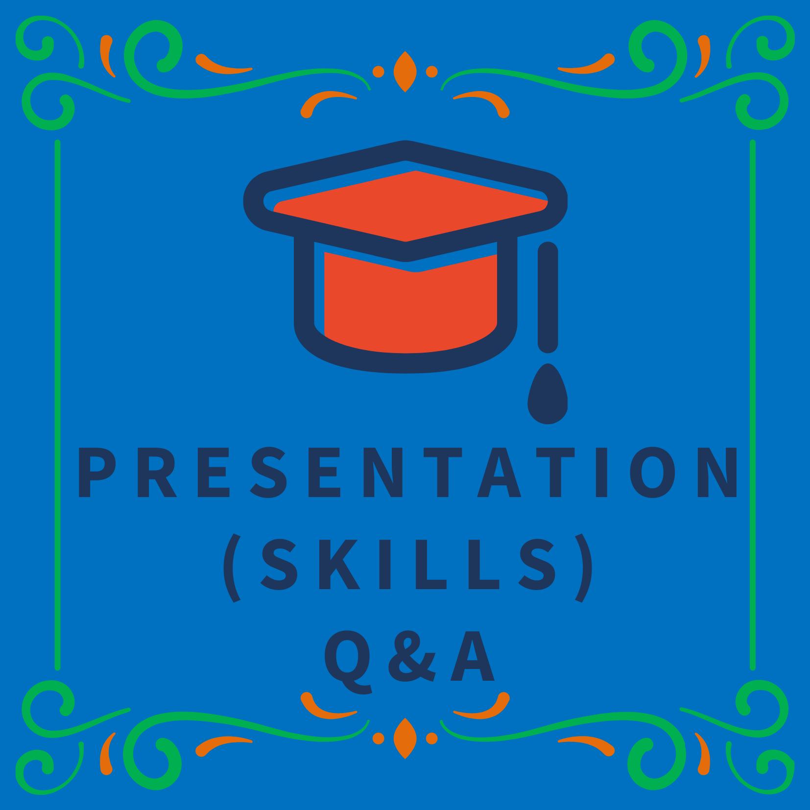 Artwork for podcast Presentation (Skills) Q&A