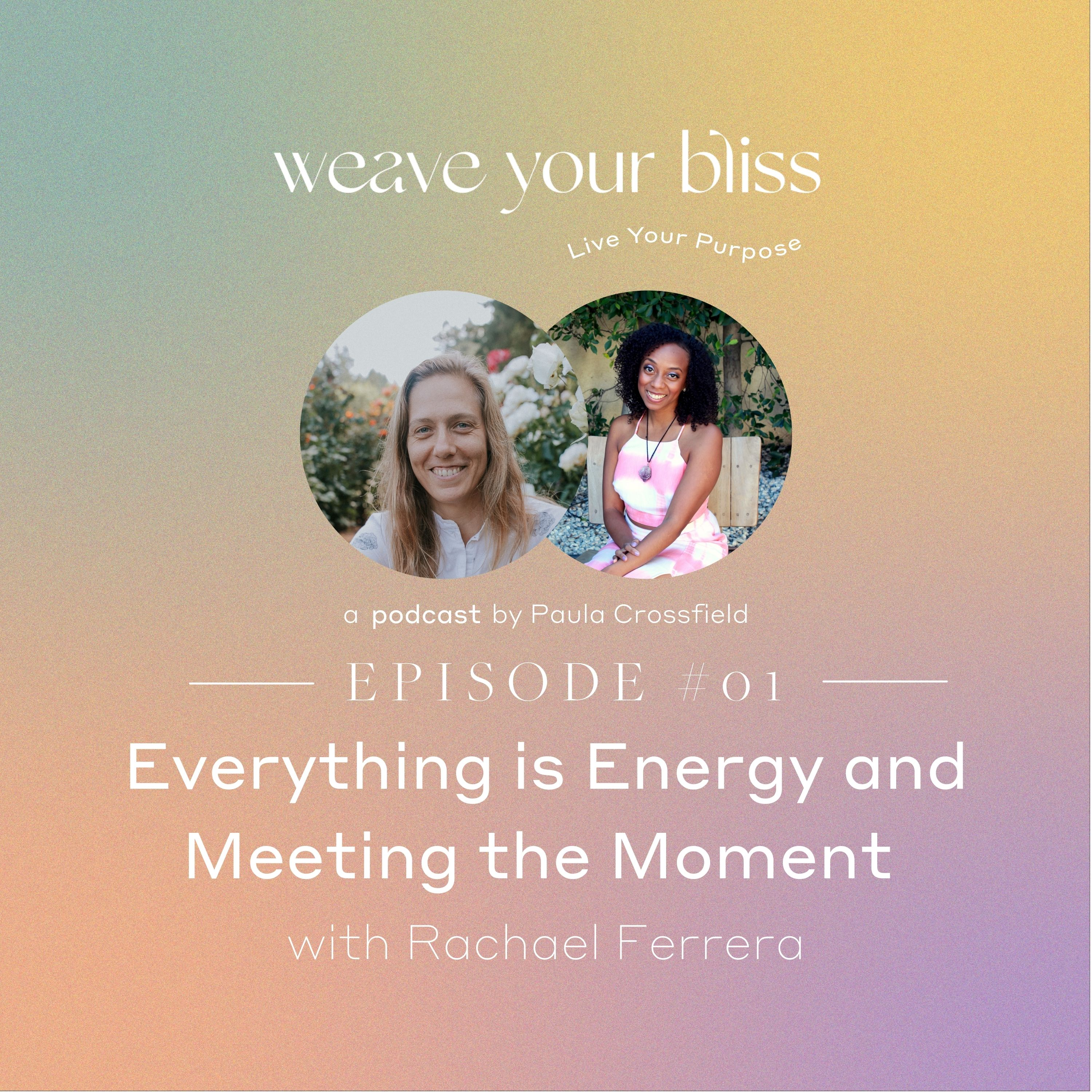 01: Everything is Energy and Meeting the Moment with Rachael Ferrera