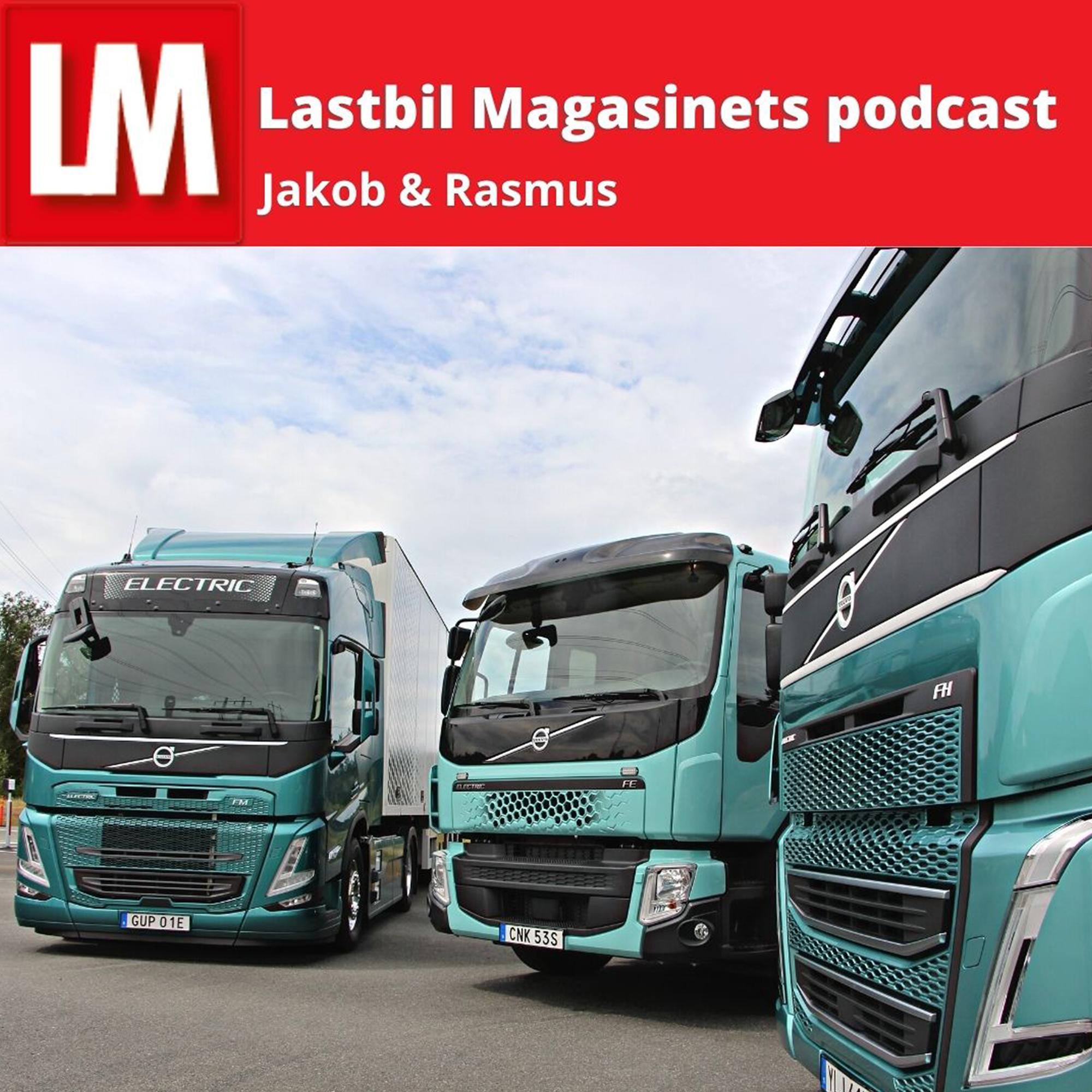 Artwork for podcast Lastbil Magasinet podcast