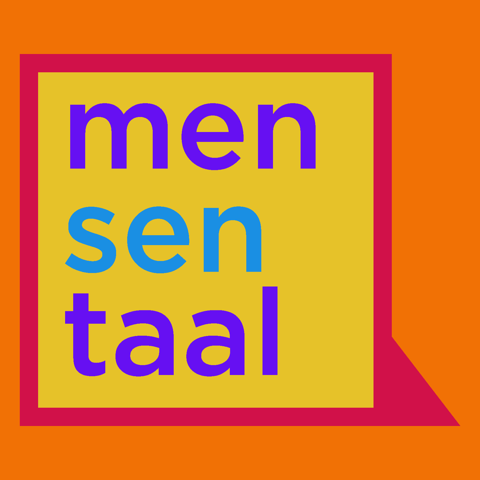 Show artwork for Mensentaal